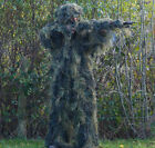 Military Anti-Fire 4 PIECE GHILLIE SUIT Army Woodland Camo Camouflage All Sizes