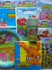 MOSHI MONSTERS PARTY RANGE (Partyware/Balloons/Toys/Gifts){Gemma}MSM