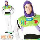 Deluxe Buzz Lightyear Men's Toy Story Fancy Dress Adult Disney Space Costume