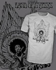 Jimi Hendrix Experience - Band of Gypsys - Vintage Rock Shirt Scoop VNeck Raglan
