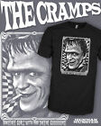 The Cramps Psychobilly Shirt - Kustom Hot Rod Hellbilly Tee - Scoop VNeck Raglan
