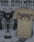 Tool Band v1 Death Moth - Aenima Lateralus Vintage T-Shirt Scoop V-Neck Raglan