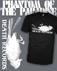 Phantom of The Paradise - Vintage Death Records T-Shirt - Scoop V-Neck Raglan