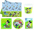 DISNEY Mickey Mouse TOR! PARTY REIHE (Geschirr/Dekorationen)