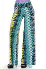 Sexy Women's High Waist Wide Leg Stretchy Guacho Palazzo Boho Print Pants