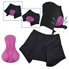 Women Cycling Underwear Gel 3D Padded Bike Bicycle Short Pants S-XXL Comfortable