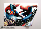 SUPERMAN VS SPIDERMAN GIANT WALL ART POSTER A0 A1 A2 A3