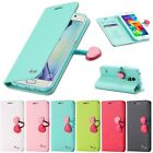 Cute Wallet Magnetic Leather Case Card Pouch Flip Stand Slim Cover For iPhone