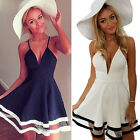 Sexy Women Lady Summer Casual Sleeveless Party Evening Short Mini Dress Elegant