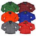 The North Face Puffer Jacket Mens Brecon Full Zip Long Sleeve Solid New