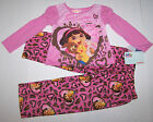 Nwt New Dora the Explorer Pajamas Sleepwear Pink Leopard Favorite Pet Cute Girl