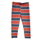 Children Winter Warm Fleece-lined Legging Stretch Fit Trousers Valentine's Day