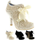 Womens Irregular Choice Abigail's Third Party Lace Up Party High Heels UK 3-8