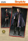 Sew & Make Simplicity 2529 SEWING PATTERN - Adult VAMPIRE GOTH COSTUME CAPES