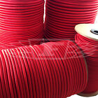 ELASTIC BUNGEE ROPE SHOCK CORD TIE DOWN RED 2mm 3mm 4mm 5mm 6mm 8mm 10mm