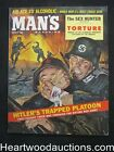 Man's Mar 1960 George Gross Nazi- Russian assault Cover, Jack the Ripper - High