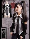 fashion Visual Kei Rock black Punk Gothic Lolita t-shirt Blouse nana