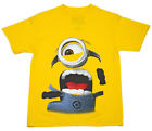 Despicable Me 2 Minion Face Run Youth T-Shirt - Yellow