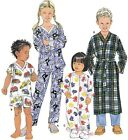 Sew & Make Simplicity 9853 Vintage SEWING PATTERN- Kids SLEEP WEAR PAJAMAS ROBES