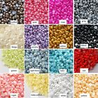 1000pcs 5/6/7/8mm Flat back Acrylic Pearl  Scrapbooking Embellishment Craft Nail