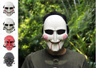 JIGSAW PUPPET BILLY SAW FULL FACE COSPLAY HALLOWEEN FANCY DRESS COSTUME MASK