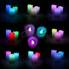 Flameless Timing & Electronic Remote Control Color Changing LED Vanilla Candles