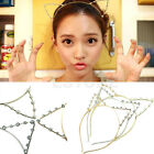 Fashion Women Girls Cat Ears Pearl Rhinestone Alloy Sexy Cute Headband Hair Band