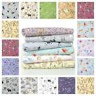 WILDLIFE 100% COTTON FABRIC birds mice terriers hedgehogs scotties rabbits hares