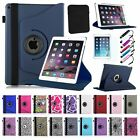 New Slim Fit 360 PU Leather Case Stand Cover for 2014 Apple iPad Air 2 / iPad 6