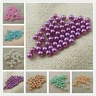 3mm Mixed Colors Round ABS Imitated Pearl Seed Beads No Hole Jewelry Findings