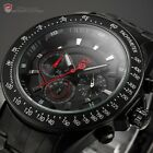 Snapper Shark Gen2 Mens Chronograph 24 Hours Sport Quartz Wrist Watch + Box