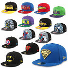 NEW ERA CAP FULLCAP SNAPBACK DC COMICS MARVEL BATMAN SUPERMAN WOLVERINE HULK