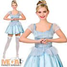 Cute Cinderella Ladies Fairy Tale Fancy Dress Womens Princess Adults Costume New