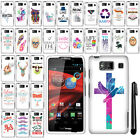 For Motorola Droid Razr Maxx HD XT926M Art Design PATTERN HARD Case Cover + Pen