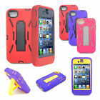 For Apple iPhone 4/CDMA/4S HYBRID Hard/Silicone Stand