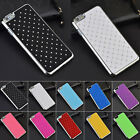 Fashion Bling Rhinestone Metal Hard Back Case Cover For Apple Iphone 6 6 Plus
