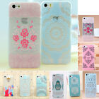 New Fashion Cute Pattern Hard Back Skin Case Cover For Iphone 4 4s 5 5s 5c