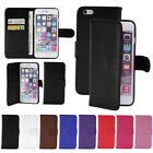 New Wallet Card Flip Leather Case Cover For Apple Iphone 4 4s 5 5s 5C 6 Plus