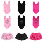 Toddler Girl Kid Flutter Ballet Dancewear Skate Skirt Gymnastic Leotard Costume