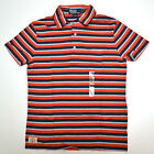 Polo Ralph Lauren Pocket Collared T-shirt Mens Torch Red Classic Fit New  V107