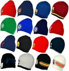 OFFICIAL FOOTBALL TEAM CLUB - CREST KNITTED KNIT BEANIE HAT HATS CAP GIFT XMAS