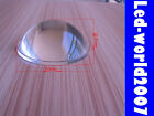50mm High Temperature Resistance Glass Optical LED Lens Collimator 5-90 Degree