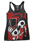 Akumu Ink Let The Madness Begin Tank Top Womens Vest Goth Tattoo