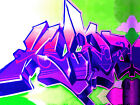 GRAFFITI 04 FRAMED CANVAS ART PRINT A0 A1 A2