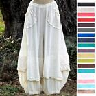 OH MY GAUZE Cotton Lagenlook  GUCHI  Pants Harem Layered M/L/XL/1X 2015 COLORS