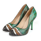 Pumps Sexy Stiletto Evening Party Womens High Heels Pointed Toe Hot Dress Shoes