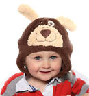 Soft Warm Baby Hat Girls Boys Furry Animal Trapper & Ears For Winter New 44-48cm