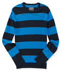 Aeropostale Mens Striped Rugby Pullover Sweater