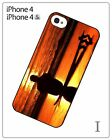 Surfing Surfer Sea Beach Surfboard Wave Hard Cover Case for iPhone 4 4S