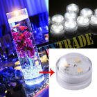3 SMD LED Tea Candles Submersible Waterproof Round Decoration Candle Lights